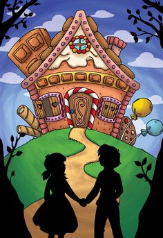 Hosue clipart hansel and gretel And deviantart on Candy Vintage