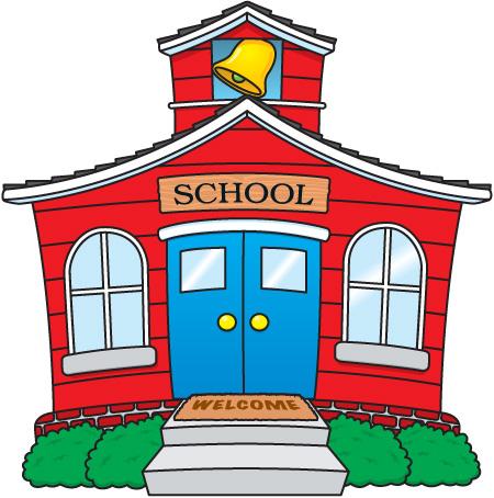 Hosue clipart kindergarten School Clipart Kindergarten 450x454 School