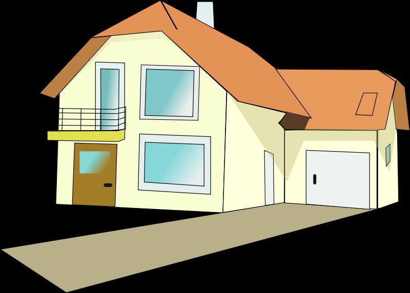 Hosue clipart la casa Download clip clipart Driveway art