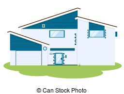 Hosue clipart modern Modern csp2243772 house  Search