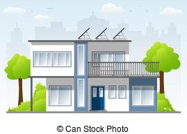 Hosue clipart modern House model one modern of
