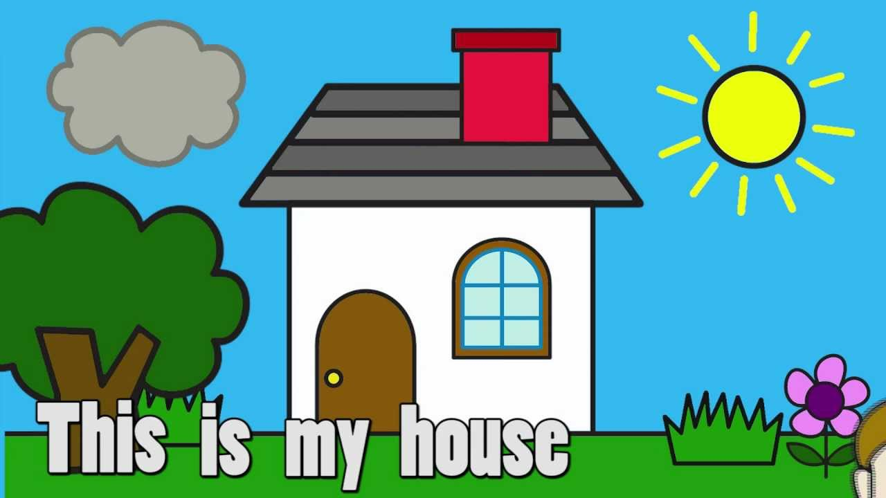 House clipart my house My Free Clip Art on