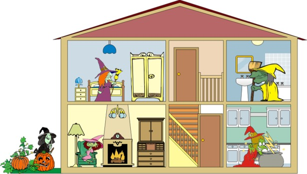 Hosue clipart part the house Parts house the Exercises: English