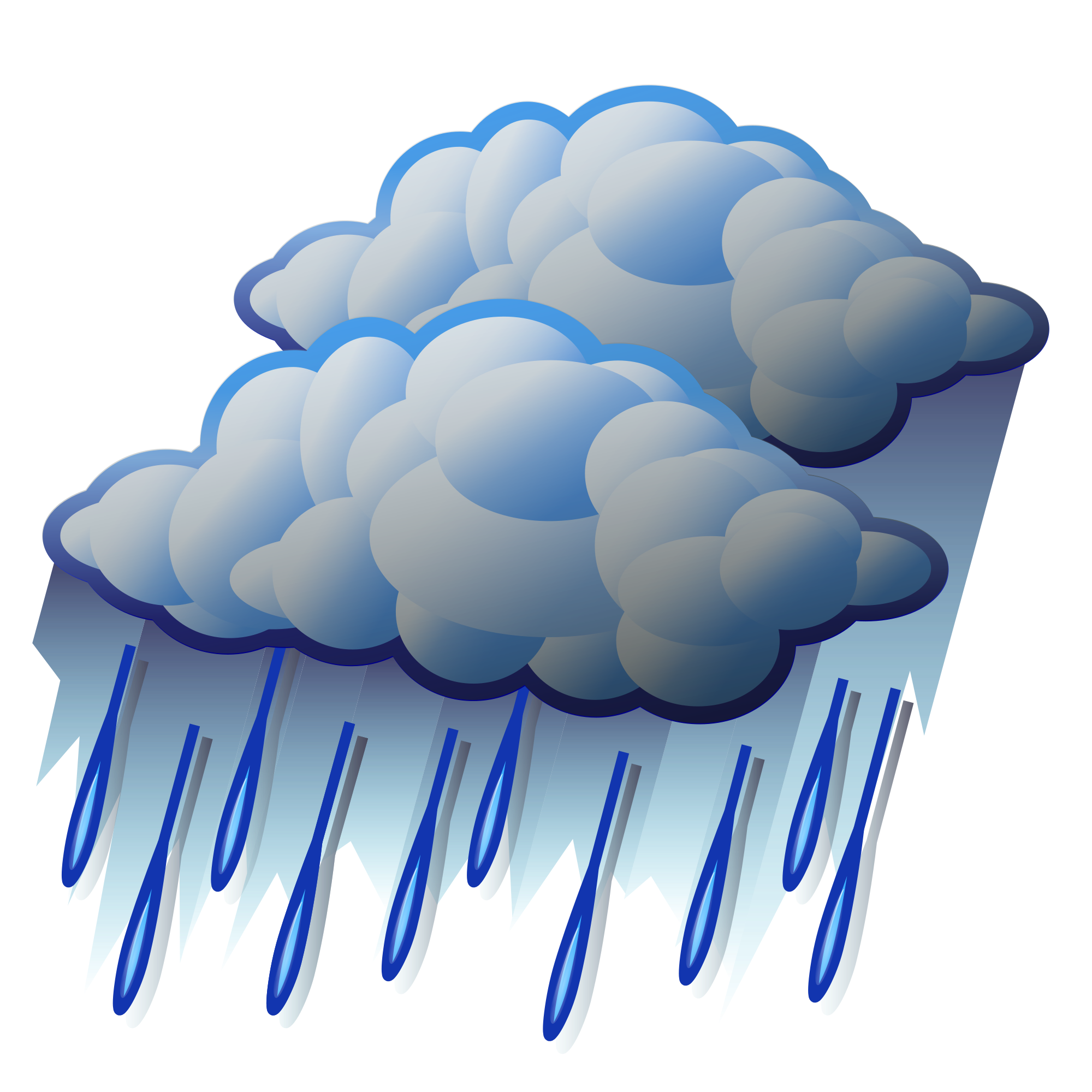 Hosue clipart raining A rain a clipart house