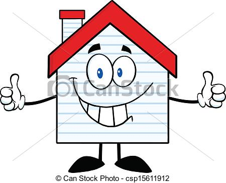 Hosue clipart smiling Smiling Vector csp15611912 With Smiling