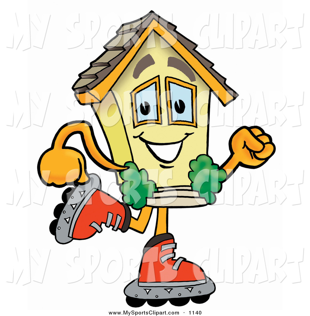 Hosue clipart smiling Roller House a  Smiling