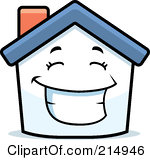 Hosue clipart smiling Images Clipart Mascot Happy Free