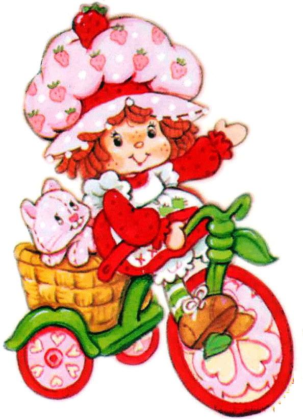 Original clipart strawberry shortcake House House Clipart Clip –