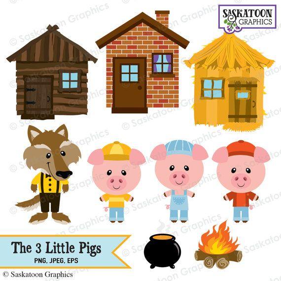 Iiii clipart three Pigs Clipart Pinterest party best