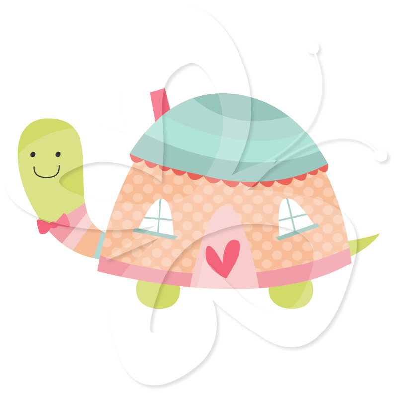 Hosue clipart turtle Turtle Art House Clip Creative