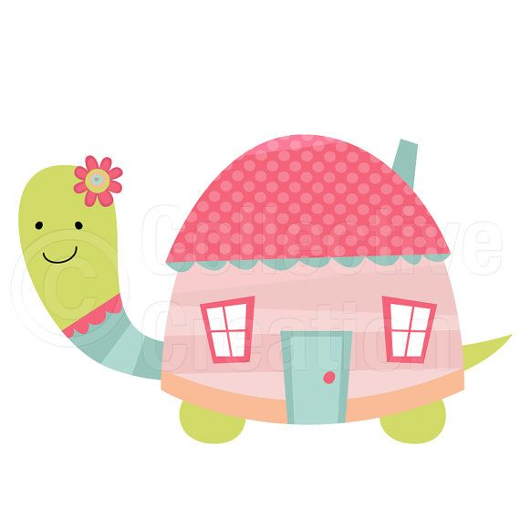 Hosue clipart turtle On tortugas Pinterest best by+CollectiveCreation