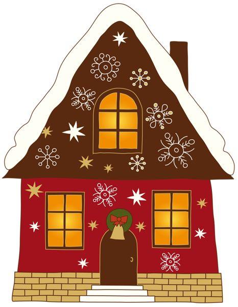 Gingerbread clipart santa claus house CLIP about ~*♦️Houses~Apartment 283 best