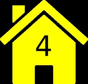 Hosue clipart yellow #7