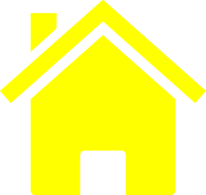 Hosue clipart yellow #13