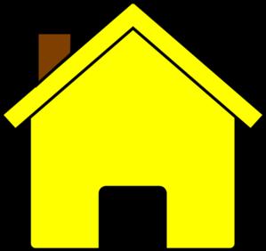 Hosue clipart yellow #5