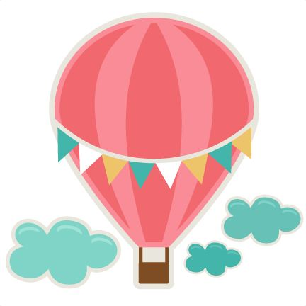Balloon clipart printable Hot air for air art