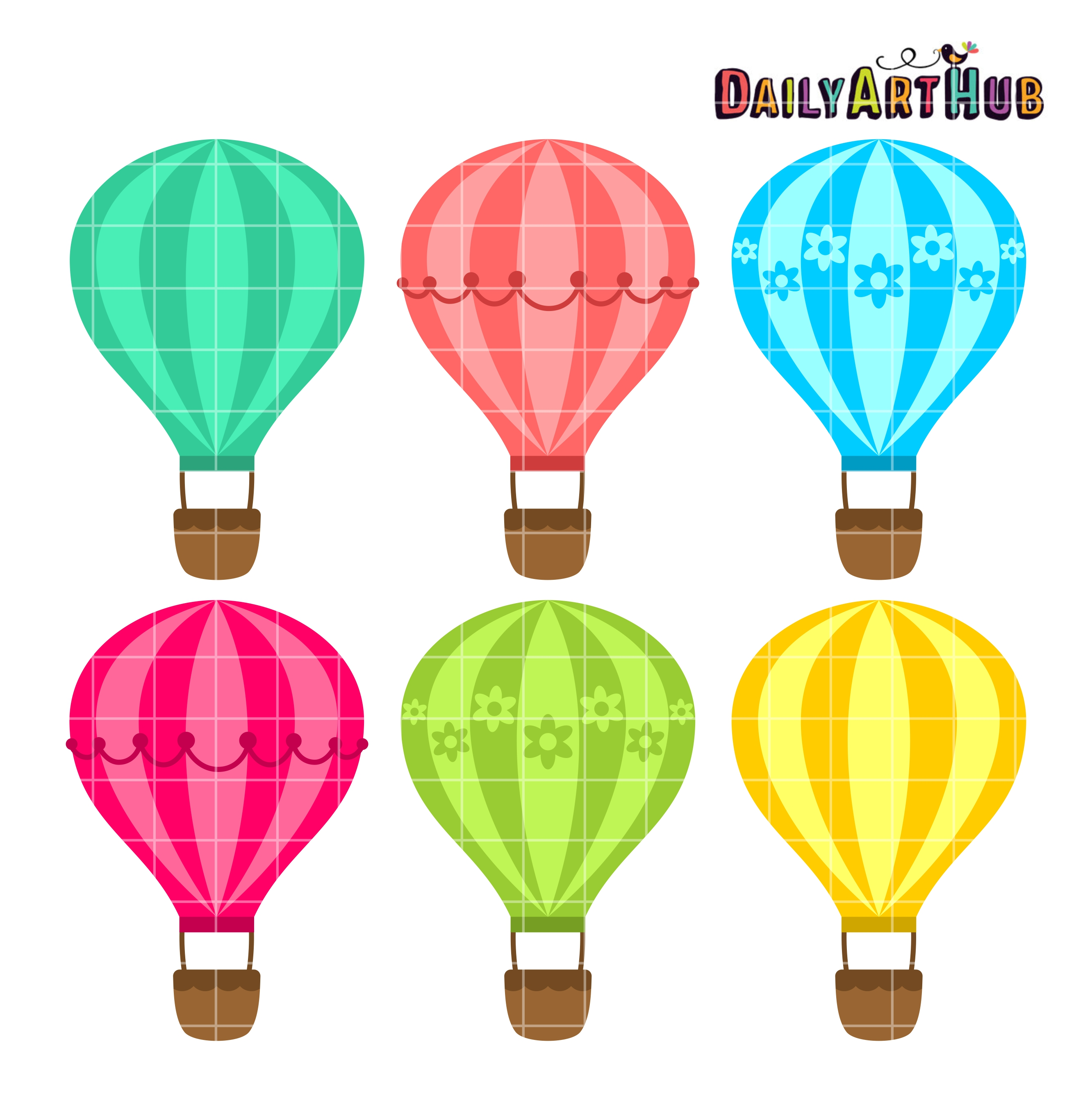 Cart clipart balloon Daily Hot Set Air Hub