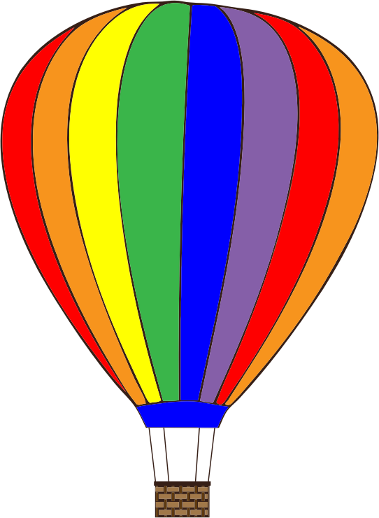 Balloon clipart hotair Use art 4 hot air