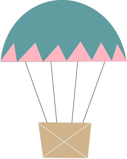 Parachute clipart balon udara Images more Hot Pin Pin