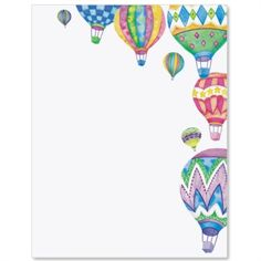 Hot Air Balloon clipart banner #4
