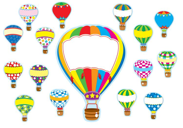 Hot Air Balloon clipart banner #2