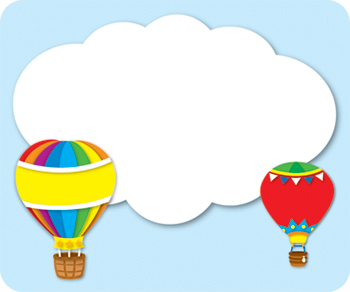 Hot Air Balloon clipart banner #11