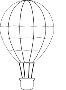 Whit clipart hot air balloon Air online Air Art Clip