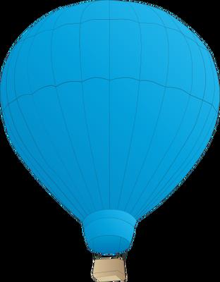 Light Blue clipart hot air balloon Air Air balloon Lovely Hot
