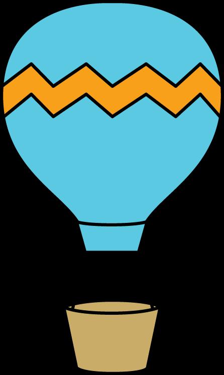 Orange clipart hot air balloon Air Hot Balloon Blue Hot