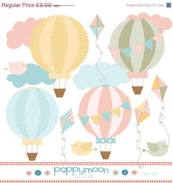 Light Blue clipart hot air balloon Balloon 519 best Hot blue