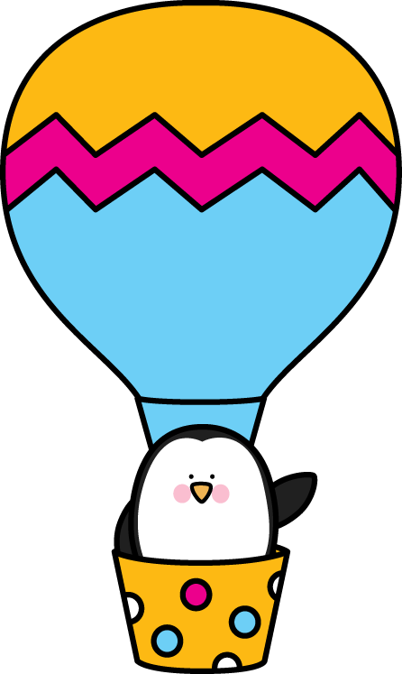 Balloon clipart penguin A Balloon Clip Air Hot