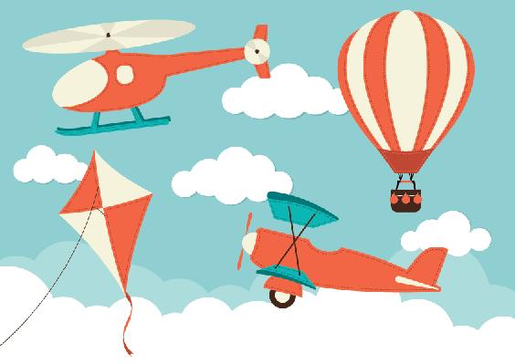 Orange clipart hot air balloon Hot Air Balloon Air Clipart