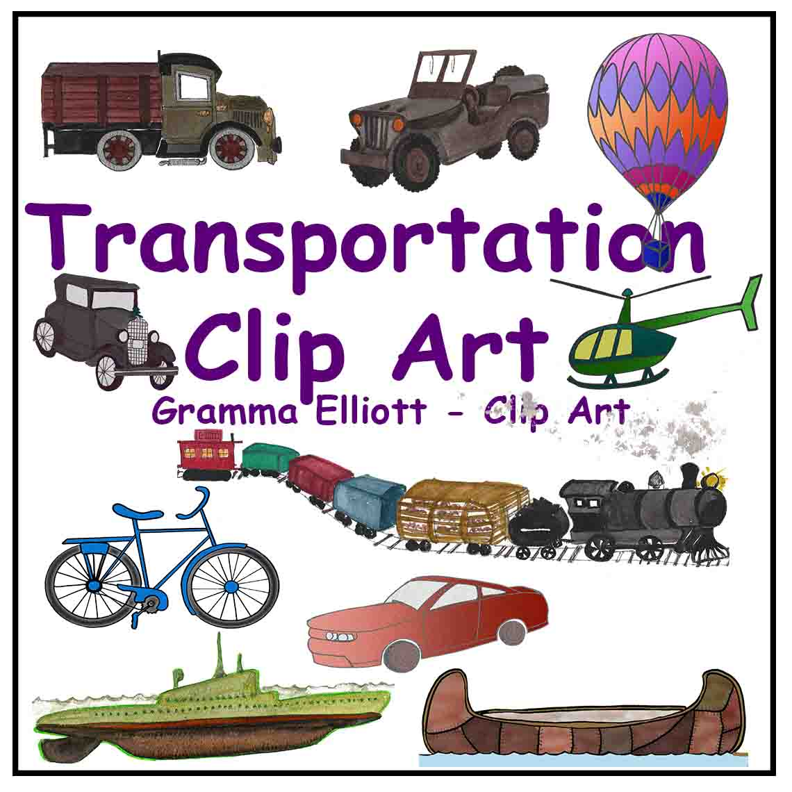 Canoe clipart transport Canoe fashioned Clip Air Bus