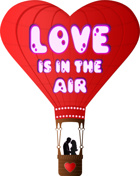 Heart clipart hot air balloon Com Download vector Clip this