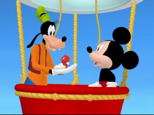 Mickey Mouse clipart hot air balloon #8