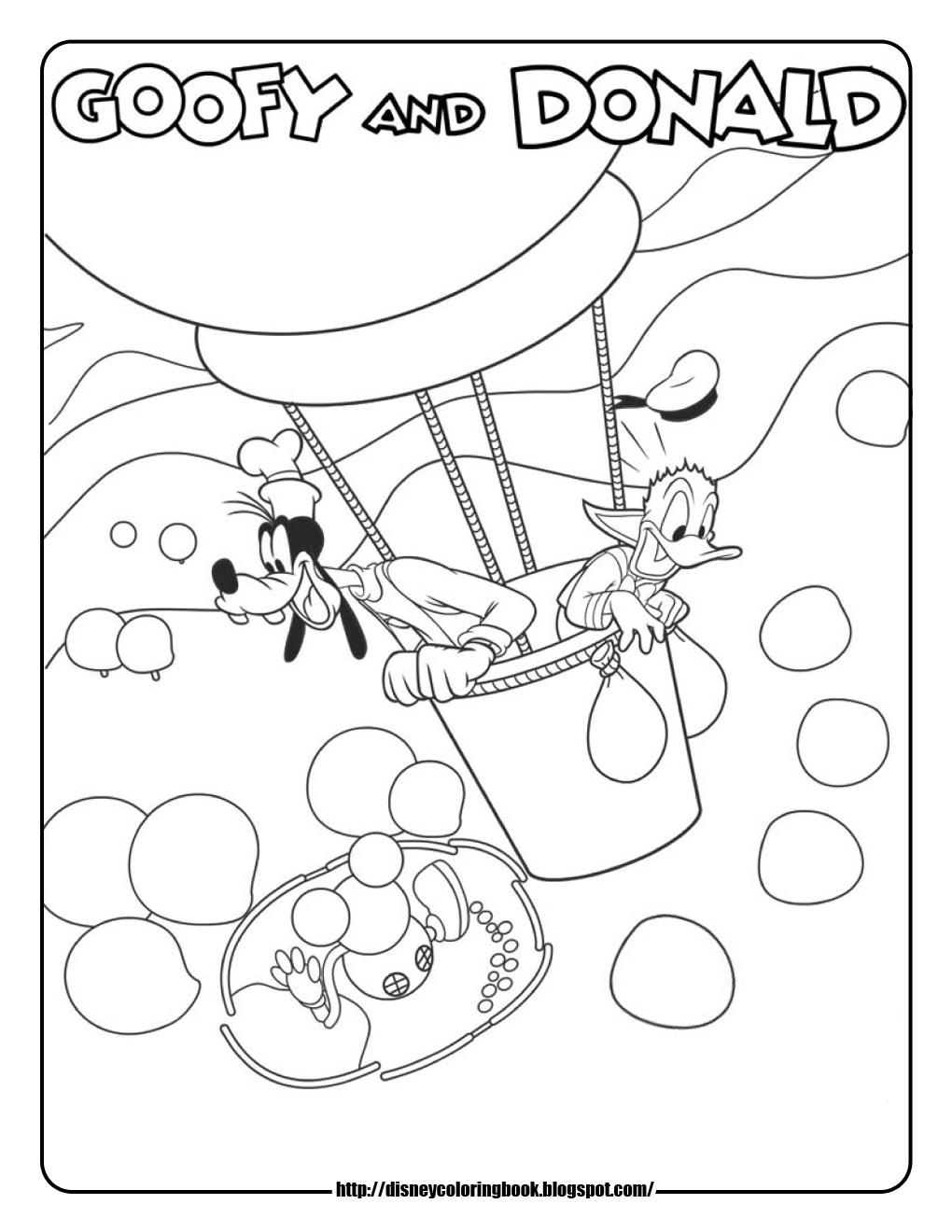 Mickey Mouse clipart hot air balloon #12