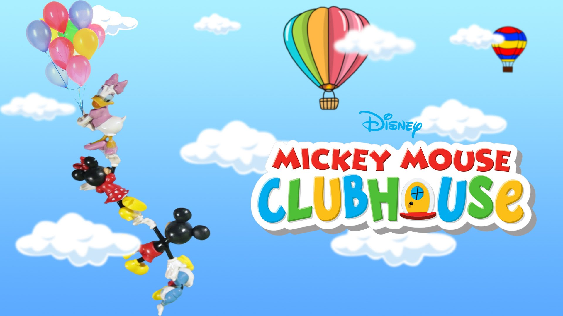 Hot Air Balloon clipart mickey mouse clubhouse #14