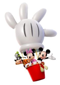 Hot Air Balloon clipart mickey mouse clubhouse #3
