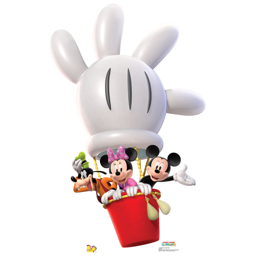 Hot Air Balloon clipart mickey mouse clubhouse #7