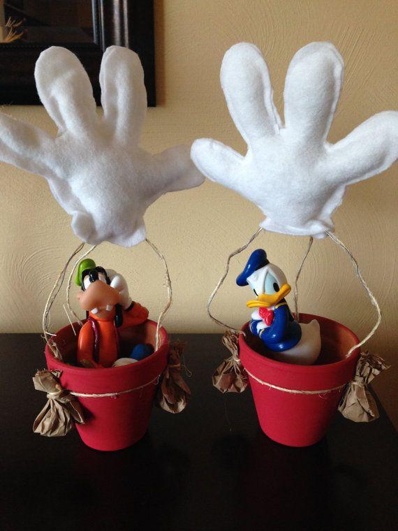 Mickey Mouse clipart hot air balloon #3