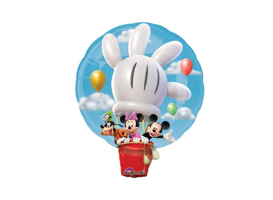 Mickey Mouse clipart hot air balloon #9