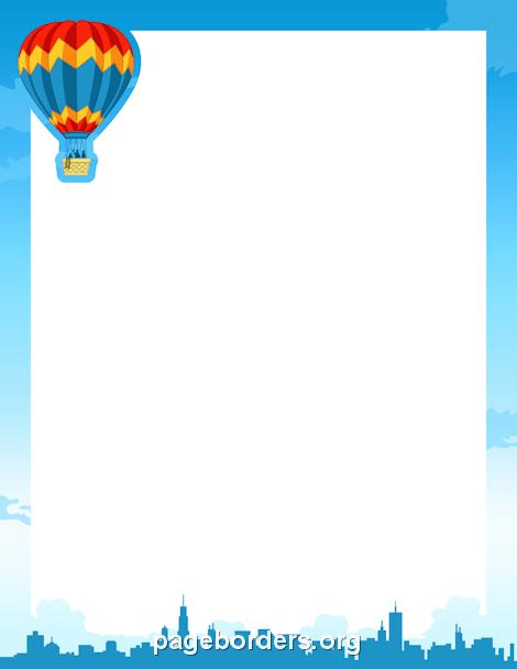 Hot Air Balloon clipart parachute #9