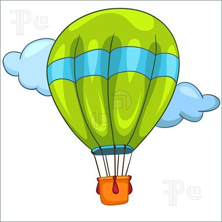 Hot Air Balloon clipart parachute #2