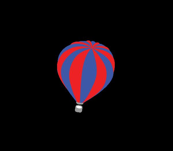 Hot Air Balloon clipart parachute #4