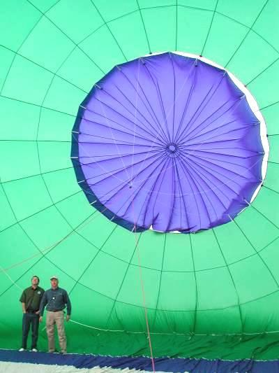 Hot Air Balloon clipart parachute #5