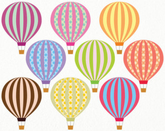 Balloon clipart printable Free hot hot ballon Free