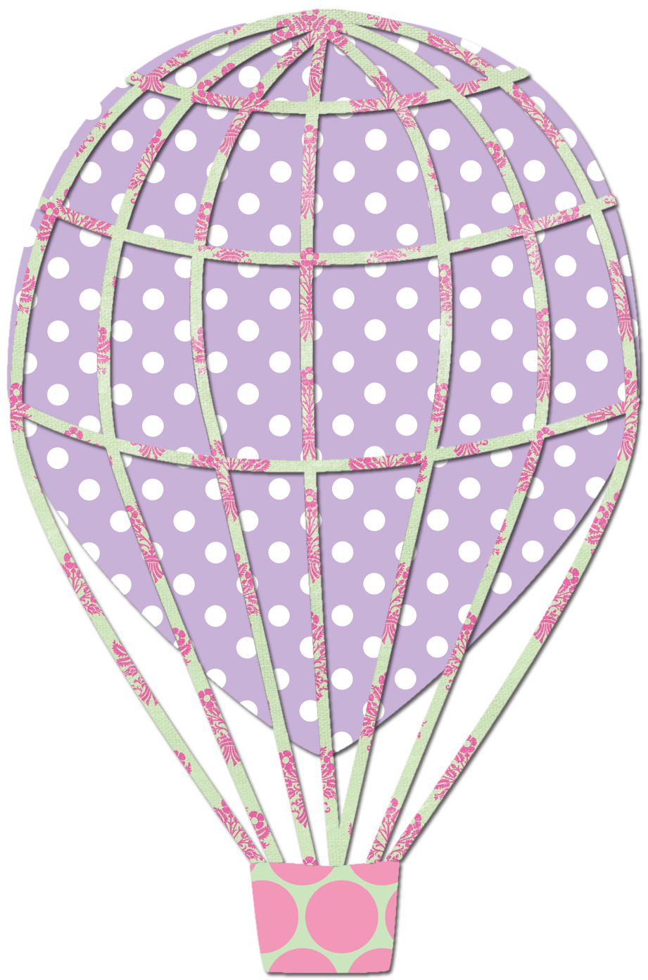 Hot Air Balloon clipart scrapbook Air to artwork Blog: a