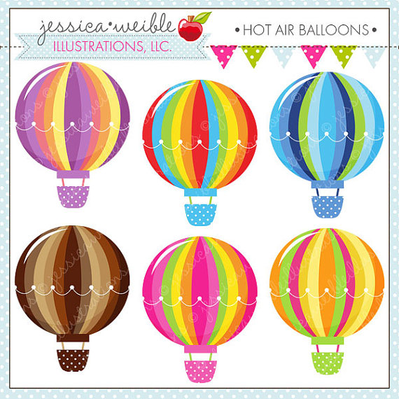 Hot Air Balloon clipart scrapbook Balloons Design Clipart  Web