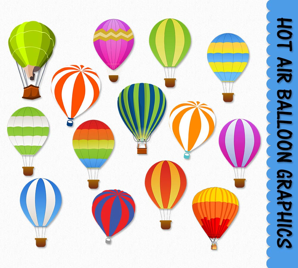 Hot Air Balloon clipart scrapbook A Clip Hot Clipart Air