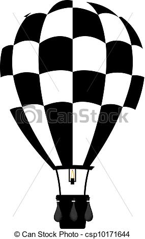 Hot Air Balloon clipart sketch #5